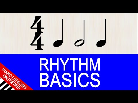Rhythm Explained from the Very Beginning