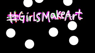 #GirlsMakeArt: #MuseumSelfie - A Caryatid