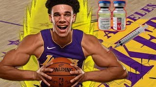what if lonzo ball took steroids