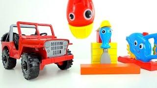 Машинки для детей. Игрушки для детей. Строительные инструменты чинят джип.(Новые мультики про машинки и игрушки на канале Желтый Экскаватор! Набор строительных инструментов очень..., 2016-02-22T18:49:16.000Z)