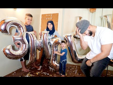 MY FAMILY SURPRISED ME!! *3 Million Subscribers*