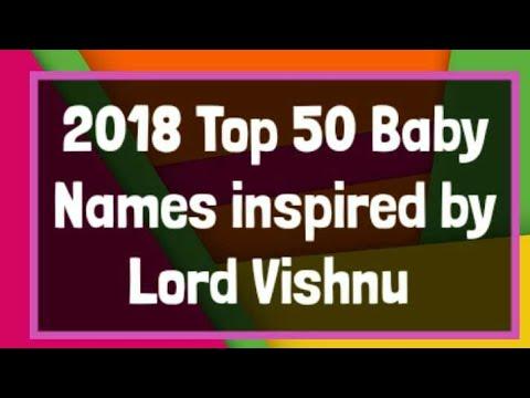 2018 Top 50 Baby Boys Names for Lord Vishnu krishna Hindi Telugu kannada Tamil baby names