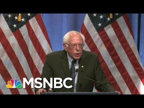 Bernie Sanders Goes 'Full FDR' Touting 'Hatred' From Bankers | The Beat With Ari Melber | MSNBC
