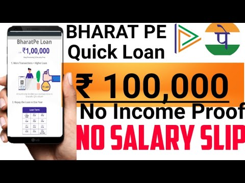 bharat-pe-quick-loan-₹1-lakh||-bharat-pe-||-loan-without-salary-slip-||-loan-without-bank-statement