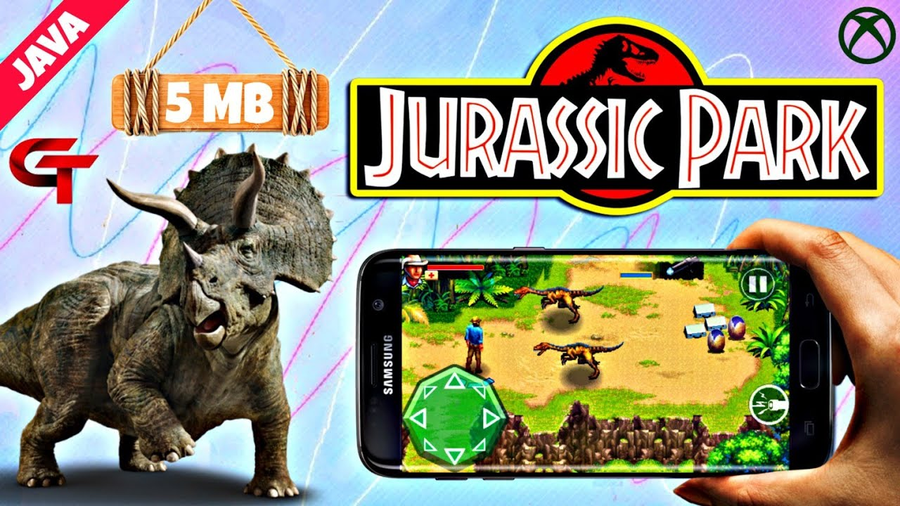 Jurassic Park Java Game Download on Android with perfect settings by GAMING  TECH