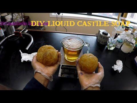 How To Make DIY Liquid Castile Soap