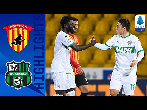 Benevento Sassuolo Goals And Highlights