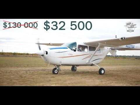 Как купить самолёт в 4 раза дешевле