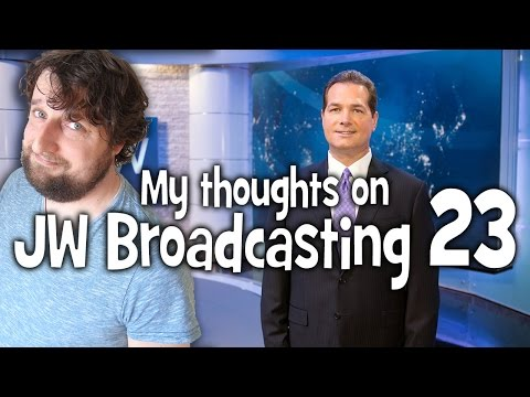 My thoughts on JW Broadcasting 23, with Ronald Curzan (tv.jw.org) - Cedars' vlog no. 153