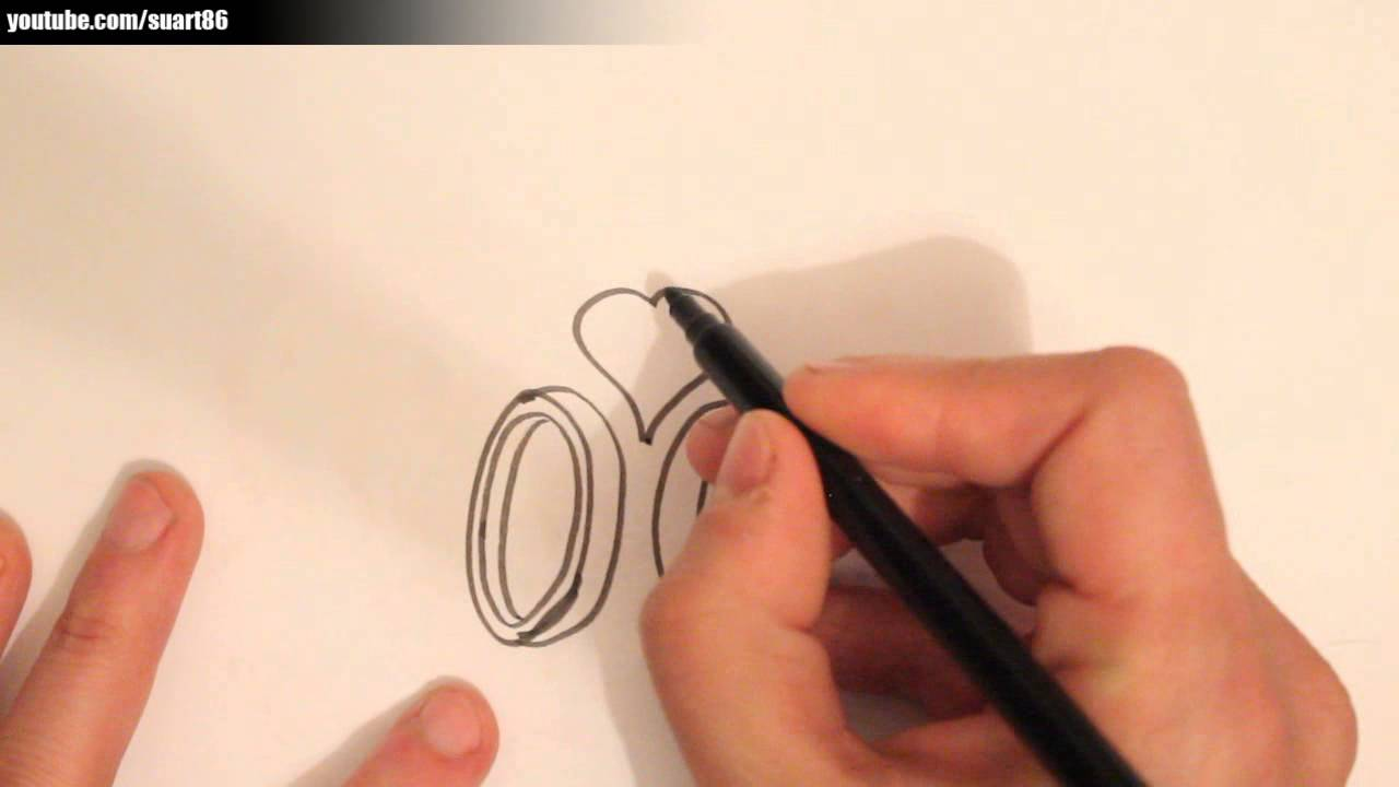 How To Draw A Wedding Ring Youtube