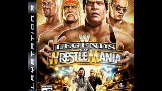 WWE Legends Of Wrestlemania Cheat Codes - PS3 & XBOX 360