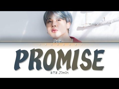 BTS JIMIN (지민) - Promise (약속) (Lyrics Eng/Rom/Han/가사)