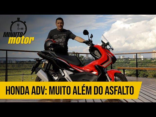 Honda ADV: muito além do asfalto