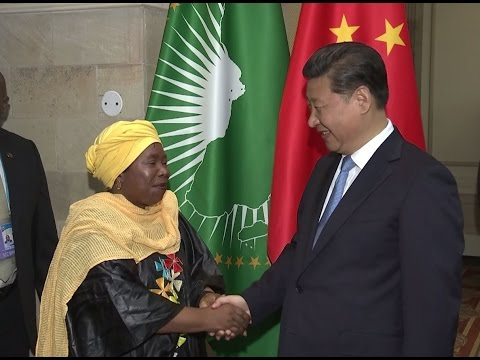 Chinese president meets AUC chairperson