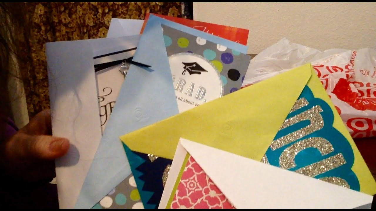 asmr, soft read, greeting cards from target, graduation, birthday, Birthday card