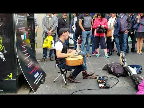 Driving Fast by street performer Morf Music