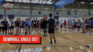 Downhill Angle Out - Euro Step Counter