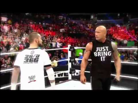 WWE Best Pay Per View Matches 2013 Promo Match