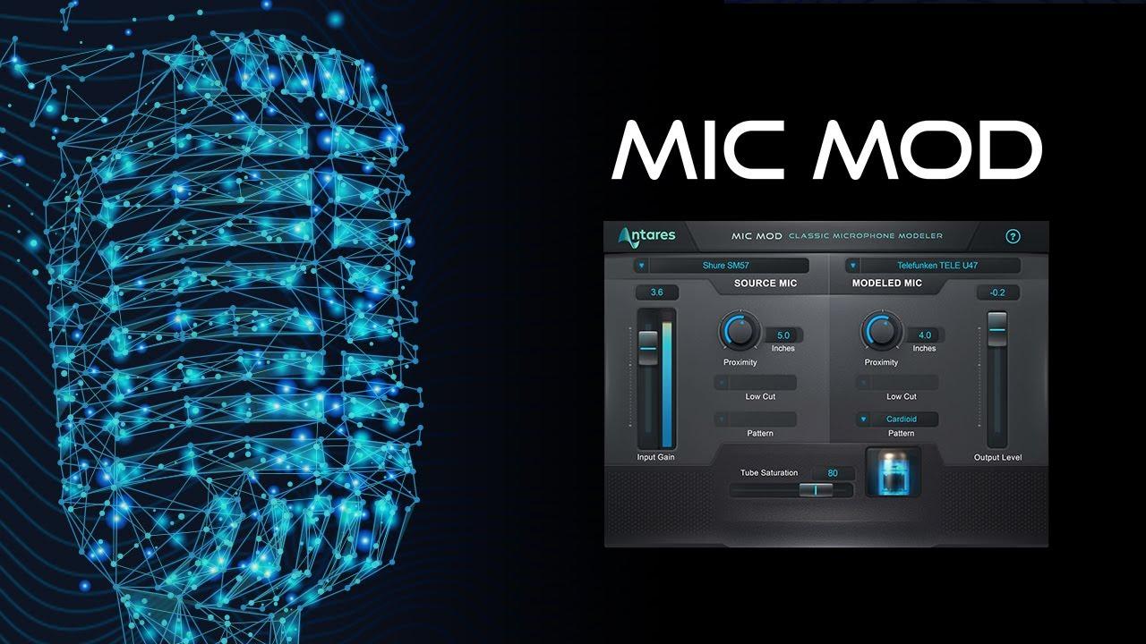 Antares mic modeler