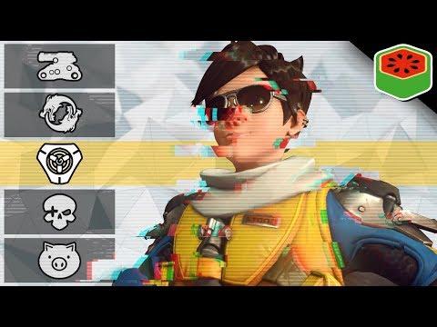 ANTI-GUN GAME! | Overwatch Custom Game