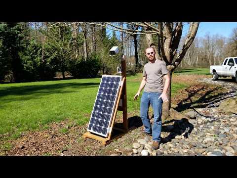 Broken Solar Panel Repair Update
