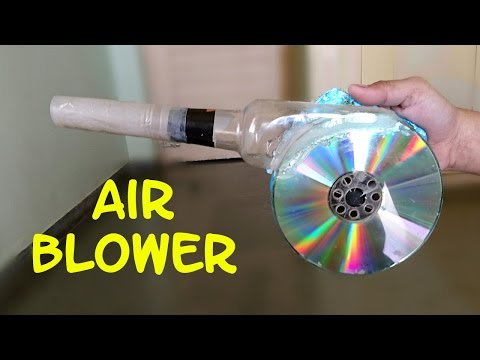 Thumbnail: How to Make a Powerful Air Blower using CD and Bottle - Easy Way