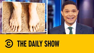 Surgeons Replace Mans Sawed-Off Thumb With His Toe  The Daily Show With Trevor Noah