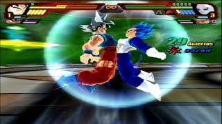 Dragon Ball Z Budokai Tenkaichi 3 - Goku and Vegeta - Migatte no Goku'i' Fusion MOD PS2