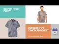 Fred Perry Gingham Shirt Best Of Fred Perry