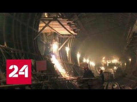 Станция московского метро Окружная готова на треть