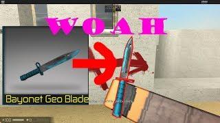 CBRO: GEO BLADE BAYONET!!AWP Time(wallbang)