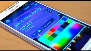 How to Customize Lock Screen Apps / Icons / Widgets on Samsung Galaxy S4 IV