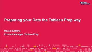 Preparing Your Data The Tableau Prep Way Youtube