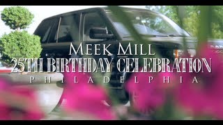Download Meek Mill 25th Birthday Celebration in Philadelphia (Gets 2012 Range Rover from Rick Ross) Mp3 and Videos