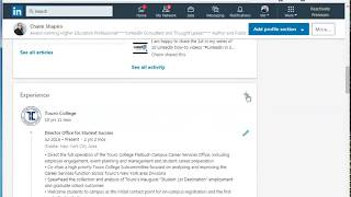 Multiple Positions At Same Employer- LinkedIn Change