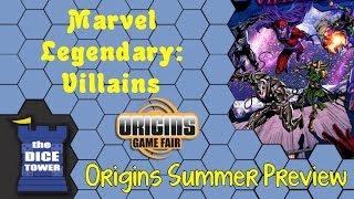 Origins Summer Preview: Marvel Legendary Villains