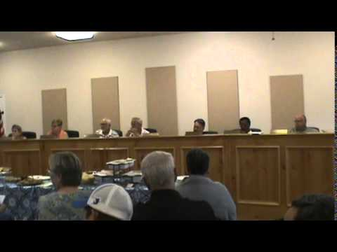 China Grove, Texas (WCN) Council (2 of 3) 6/4/2015