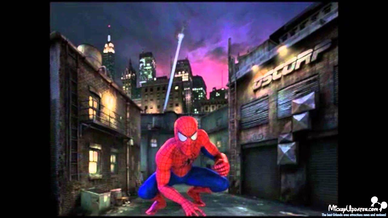 spiderman at universal orlando youtube