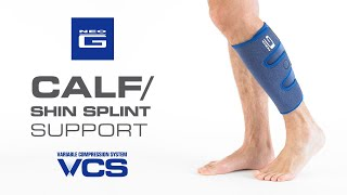 Neo G Calf/Shin Splint Support // How to Apply Guide