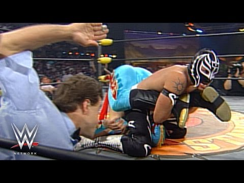 Rey Mysterio vs. Ultimo Dragon: Spring Stampede 1997: WWE Network