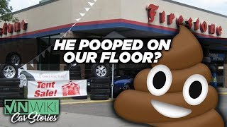 A customer pooped on our floor?