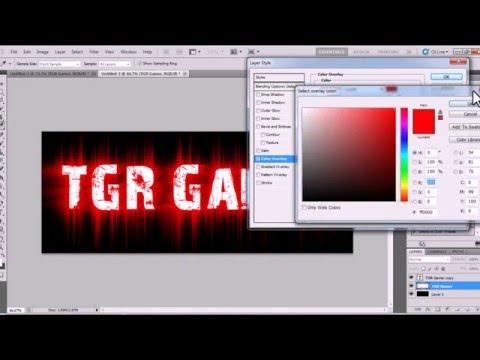 Tutorial สอนทำ Text สวยๆ Photoshop Cs5 #2