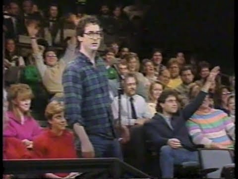 Who Asked For Its on Late Night, 12/23/86 to 6/11/87