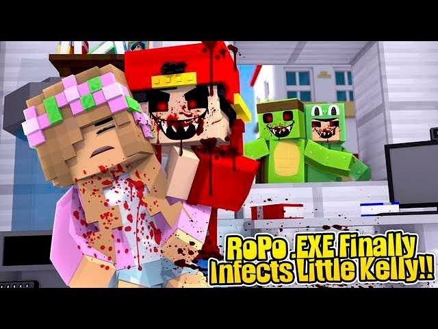 Minecraft .EXE - ROPO .EXE FINALLY INFECTS LITTLE KELLY!!!