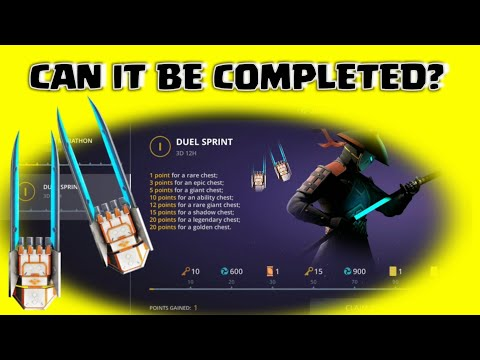 Shadow Fight 3 how to COMPLETE duel Sprint - learning claw Tricks - 동영상