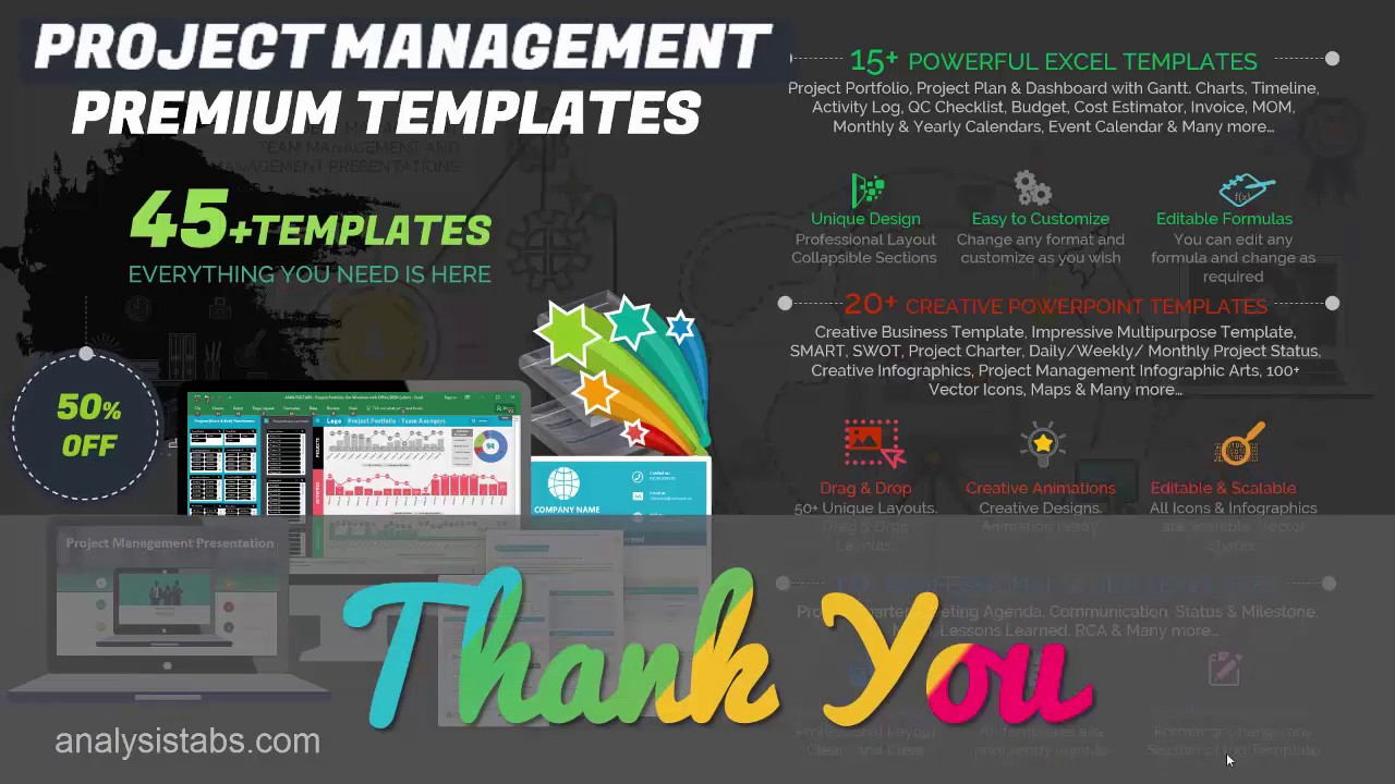 Best Project Management Templates - Creative & Powerful - YouTube