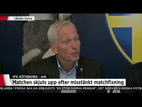 """""""Allvarlig attack på svensk fotboll"""" - Nyheterna (TV4)"""