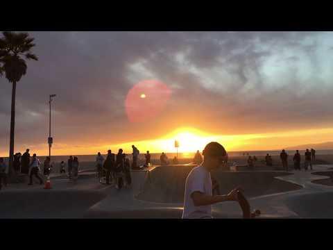 California Trip 2019: Santa Monica And Venice Beach, Drum Circle, Sunset, Bike Parade