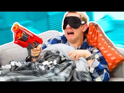NERF Don't Wake Daddy Challenge!