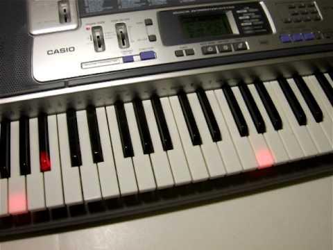 Casio LK-100 Keyboard Demo - YouTube
